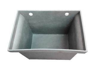 China ZL101A Cast Aluminum Gutters 2.36KG Sand Casting JIS Standard Brushing Treatment supplier