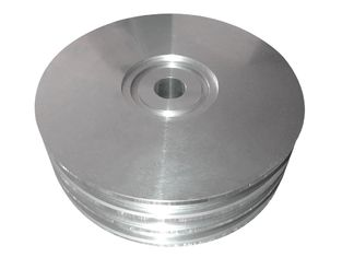 China Custom Material Aluminum Floor Flange , Light Weight Ra6.3-12 High Pressure Flange supplier