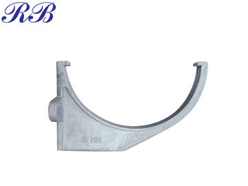 China Lightweight Cast Aluminum Gutters Half Round Fascia Bracket Low Maintenance supplier