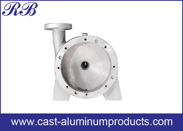 Cast Aluminum Alloy Products / Sand Casting Process And Machining Metalwork