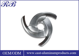 China Custom Stainless Steel Impeller High Precision Pump Impeller With Investment Casting supplier