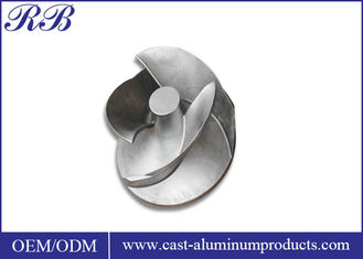 Cast Stainless Steel Impeller Investment Casting For Water Pump ISO Certification
