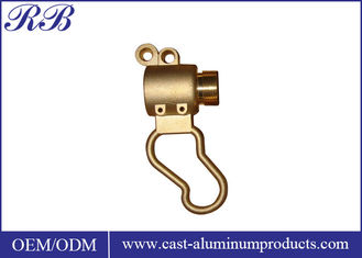 China Small Size Precision Copper Alloy Casting Lightweight With OEM Service supplier