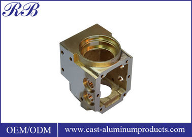 Polishied Surface Custom Brass Casting High Precision Wear Corrosion Resistance