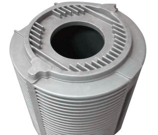 China Heat Dissipation Aluminum Motor Housing Mill Finished Low Pressure Die Casting factory