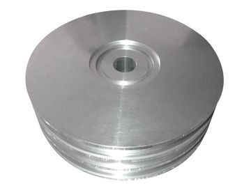 China Custom Material Aluminum Floor Flange , Light Weight Ra6.3-12 High Pressure Flange factory