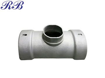 ISO9001 Approval Cast Aluminium Downpipes Half Round Running Outlet