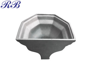 China ZL101A Material Cast Aluminum Gutters Customzied Ogee Hopper Head distributor