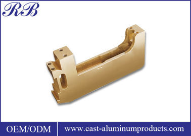 China Metalwork Precision Brass Casting With Smooth Surface Customized Size distributor